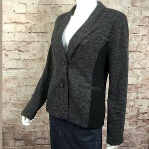 Cartonnier Anthropologie Gray Blazer Jacket 12